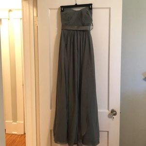 Sorella Vita Green Bridesmaid Dress Fits like a 2